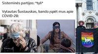 """Neapykantą prieš """"Kaunas Pride"""" dalyvius demonstravę asmenys – interneto pokštininkų taikiklyje (tv3.lt fotomontažas)"""