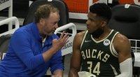 """NBA čempionė Milvokio """"Bucks"""" pratęsė kontraktą su vyriausiuoju treneriu (nuotr. SCANPIX)"""