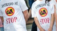 Piketas dėl Astravo AE grėsmės (nuotr. Fotodiena.lt)