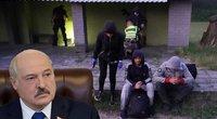 """Rusijos žiniasklaida: Lukašenka """"žvangina migrantais"""" (nuotr. SCANPIX) tv3.lt fotomontažas"""