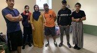 Purvėnų užkardos migrantų stovykla (nuotr. tv3.lt)