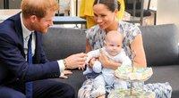 Princas Harry ir Meghan Markle su sūnumi (nuotr. Vida Press)