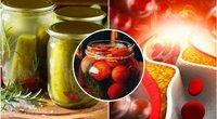 Atskleidė, kas sveikiau: marinuotos ar raugintos daržovės (tv3.lt fotomontažas)
