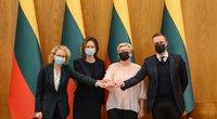 TV3 Žinios. Migrantų krizė, pandemija ir skiepų politika kerta per valdžios reitingus (nuotr. Fotodiena/Justino Auškelio)