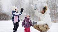 Žiema, sniegas Lietuvoje (nuotr. 123rf.com)