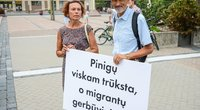 Mitingas prie Seimo prieš pabėgėlius (nuotr. Fotodiena.lt)
