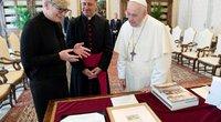 Ingrida Šimonytė susitiko su popiežiumi