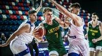 Lietuvos aštuoniolikmečiai krepšininkai iškovojo pirmąją pergalę. (nuotr. FIBA)