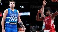 Pašėlusios NBA talentų taškų lenktynės: Hachimura buvo rezultatyvesnis, bet pergalę švėntė Dončičius