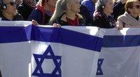 Žydų genocido aukų pagerbimas (nuotr. stop kadras)
