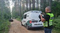 Nelaimė Trakų rajone – žuvo jaunas keturračio vairuotojas (nuotr. Broniaus Jablonsko)
