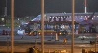 Lietuvoje nusileido lėktuvas su kariuomenei talkinusiais afganais (Irmantas Gelūnas/Fotobankas)