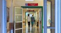 Baimė dėl rajono ligoninių likimo: planas gerinti kokybę paliks be sveikatos paslaugų prie namų? (nuotr. Fotodiena/Justino Auškelio)