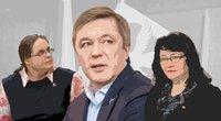 Agnė Širinskienė. Ramūnas Karbauskis. Rima Baškienė (nuotr. tv3.lt)
