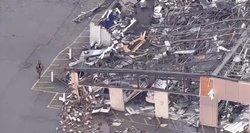 JAV – du galingi viesulai: vaizdas kaip po bombos sprogimo