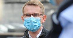 Dulkys: šiuo metu medikai kovoja dėl 14-mečio gyvybės, kuris COVID-19 užsikrėtė nuo artimųjų