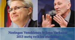 """""""Barbės devyndarbės"""": N. Venckienė ir J. Varkala pasigyrė Seime nuveiktu """"darbu"""""""
