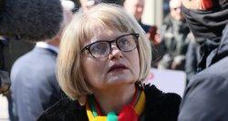 Astrauskaitė organizuoja protestą Vilniaus rotušės aikštėje: skelbia, kad prisijungs prie 40 pasaulio valstybių