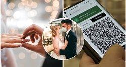 Žinia dėl vestuvių: be galimybių pasų didelę šventę metrikacijos skyriuose teks pamiršti