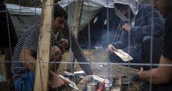 Dalies migrantų gyvenimo sąlygos – tikra katastrofa: žmonės šąla, neturi karšto vandens, negauna karšto maisto
