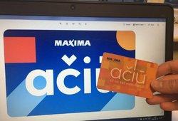 """""""Maxima"""" praneša keičianti kortelių """"Ačiū"""" sąlygas – atsiranda dvi naujovės"""