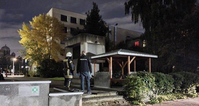 Vilniaus centre sudegė pavėsinėje miegojęs vyriškis