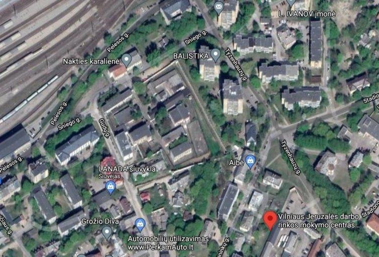 Statys naują daugiabučių kvartalą (Google nuotr.)