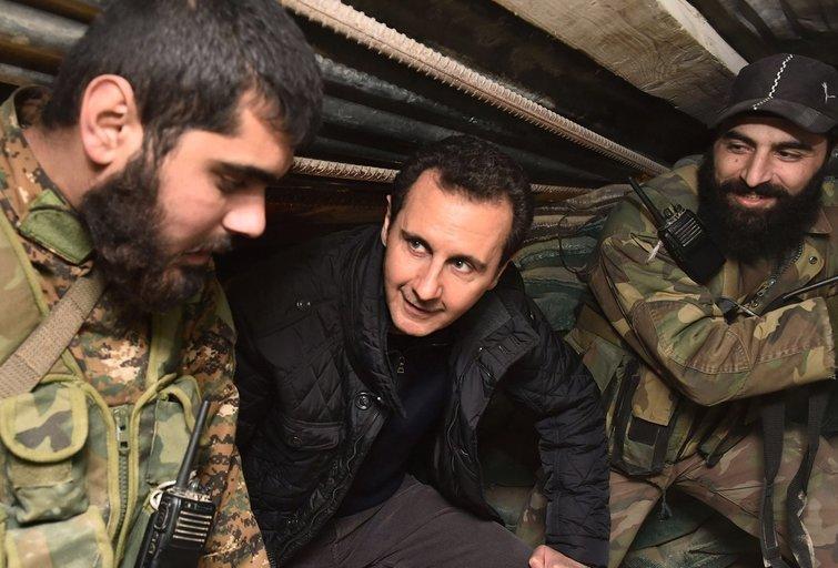 """Rusija ieškojo būdų kaip """"elegantiškai"""" pašalinti Sirijos tironą? (nuotr. SCANPIX)"""