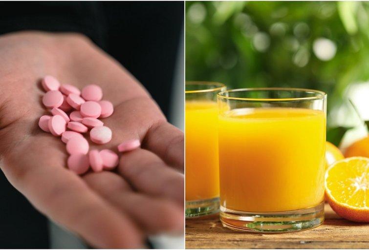 To nežino daugelis: jei vartojate vaistus, vertėtų vengti šių sulčių (tv3.lt fotomontažas)