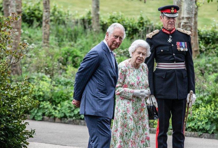 Elžbieta II ir Čarlzas (nuotr. Vida Press)