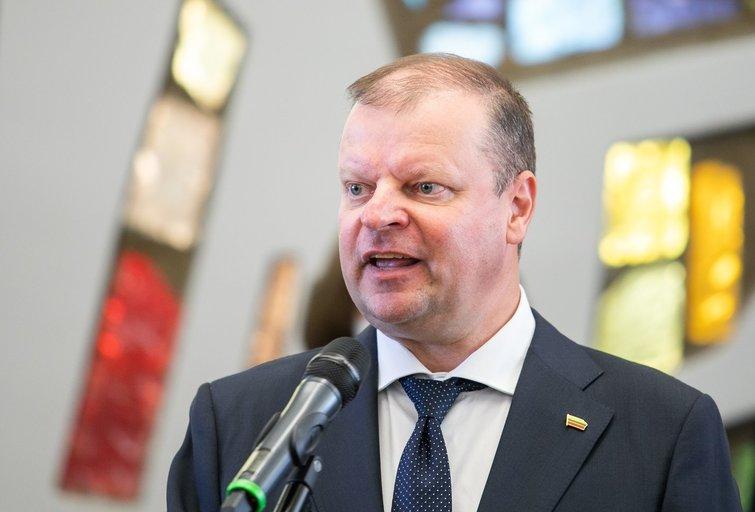 Saulius Skvernelis (Irmantas Gelūnas/Fotobankas)