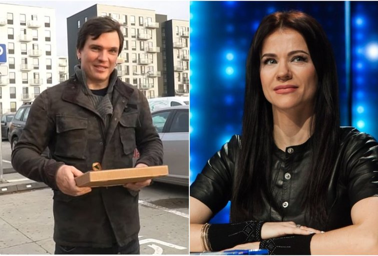 Mindaugas Papinigis ir Aistė Pilvelytė (tv3.lt fotomontažas)