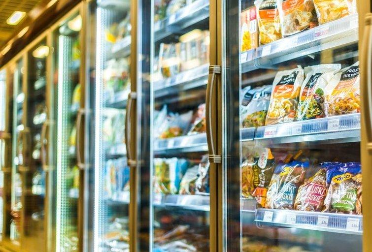 Šaldytas maistas (nuotr. Shutterstock.com)