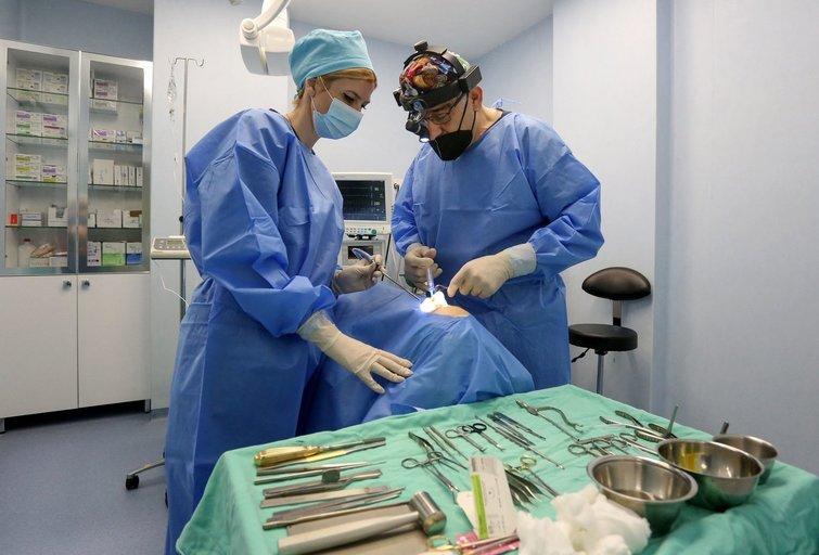 Neeilinė operacija Klaipėdoje: chirurgai pašalino retos kilmės 13 kilogramų auglį (asociatyvi nuotr.) (nuotr. SCANPIX)