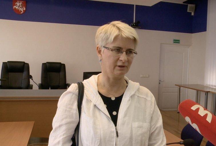 Išgirdusi nuosprendį Neringa Venckienė atsakė, ar liks Lietuvoje (nuotr. stop kadras)