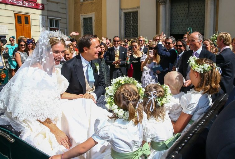 Lichtenšteino princesės vestuvės (nuotr. Vida Press)