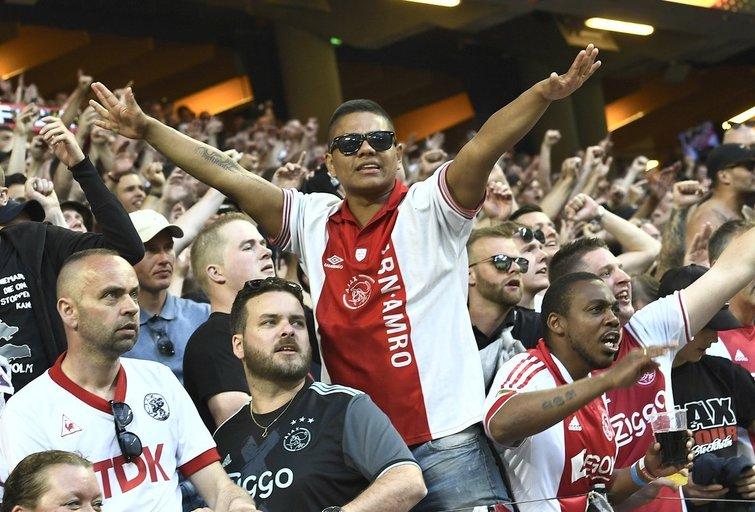 "Amsterdamo ""Ajax"" sirgaliai (nuotr. SCANPIX)"