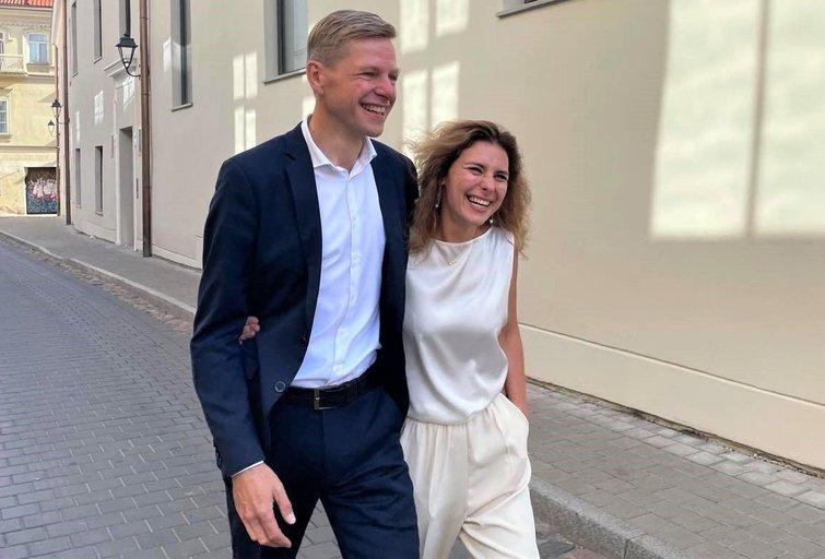 Gilma Teodora Gylyte ir Remigijus Šimašius (nuotr. facebook.com)