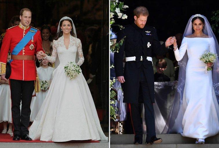 Kate Middleton ir Meghan Markle (tv3.lt fotomontažas)