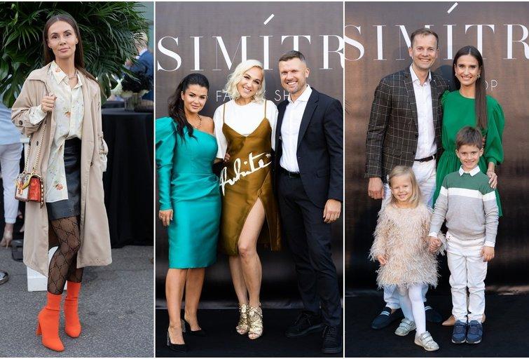 """Simonos ir Mindaugo Lipnių šeima pakvietė į grandiozinį savo parduotuvės atidarymą (nuotr. """"Simitri.lt"""")"""