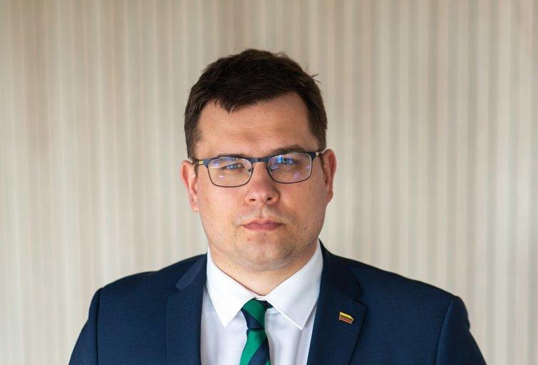 Laurynas Kasčiūnas (nuotr. Fotodiena/Justino Auškelio)