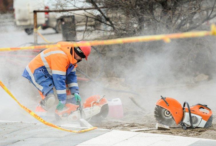 Darbas, darbininkai (nuotr. Fotodiena/Justino Auškelio)