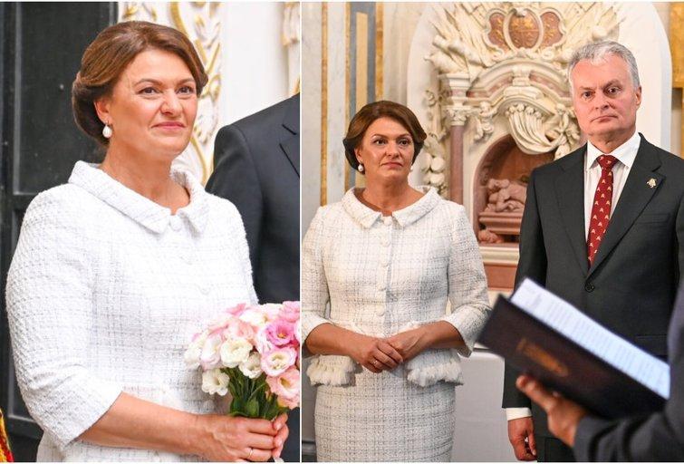 Nausėdienė parodė išskirtinį skonį: pasipuošė elegantišku kostiumėliu (nuotr. Lietuvos respublikos Prezidento kanceliarija)