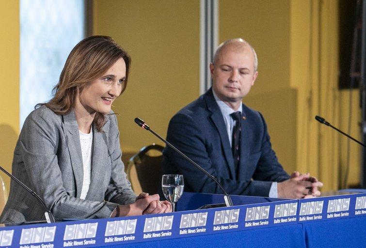 Viktorija Čmilytė-Nielsen, Simonas Gentvilas (Paulius Peleckis/Fotobankas)
