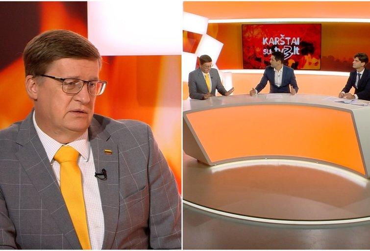 "TV3 laida ""Karštai su tv3.lt"" (tv3.lt fotomontažas)"