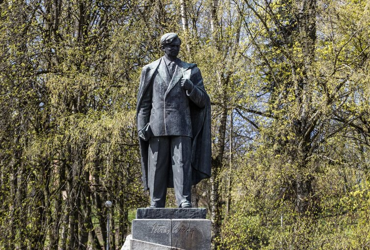Petro Cvirkos skulptūra  Vygintas Skaraitis/Fotobankas