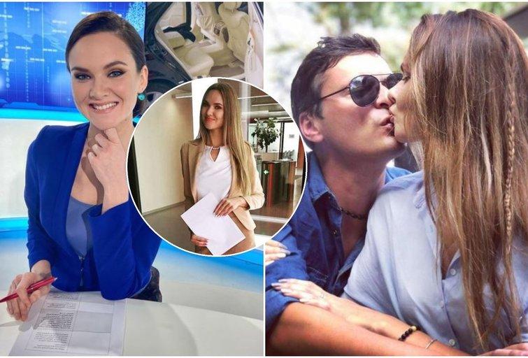 """TV3 žinių vedėjai Račaitei televizija atnešė meilę: """"Neturiu ko slėpti, esame kartu"""" (nuotr. asm. archyvo)"""
