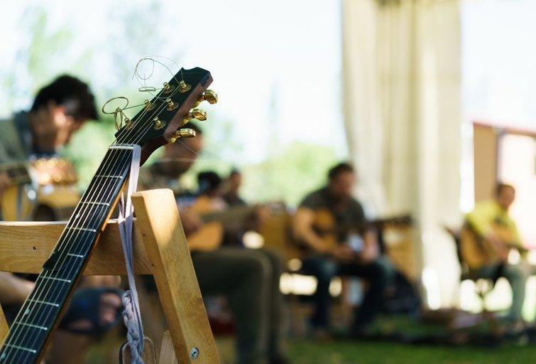 Muzikos klasė (nuotr. Shutterstock.com)