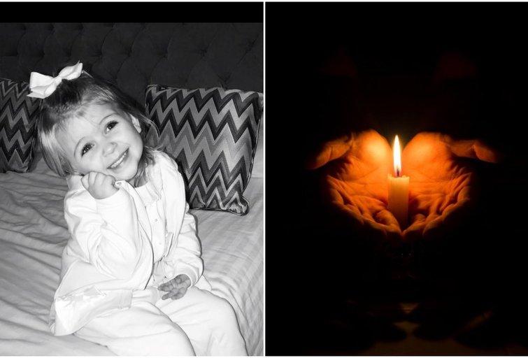 Tėvams plyšta širdis: 3-ejų dukra mirė miegodama (nuotr. facebook.com)