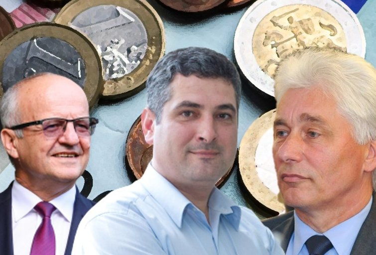 Algirdas Vaicekauskas, Darius Jasaitis ir Antanas Černeckis